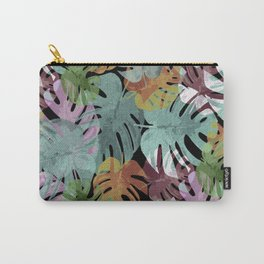Monstera Night Glory Carry-All Pouch