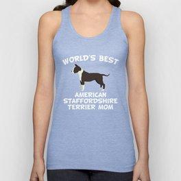World's Best American Staffordshire Terrier Mom Unisex Tank Top