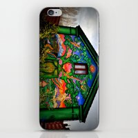 hippy iPhone & iPod Skins featuring house hippy by  Agostino Lo Coco