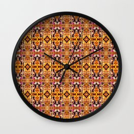Buddha pattern 2 Wall Clock