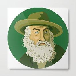 Queer Portrait - Walt Whitman Metal Print