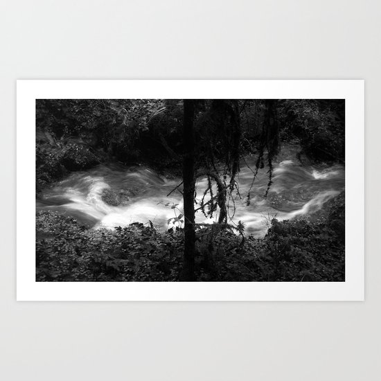 Dissipative Structure Art Print