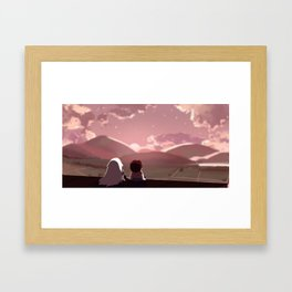 On the Run Framed Art Print
