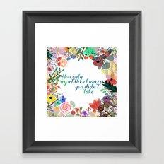 Some Inspiration Framed Art Print
