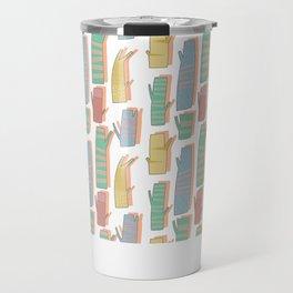 Pattern Project #33 / Tree Trunks Travel Mug