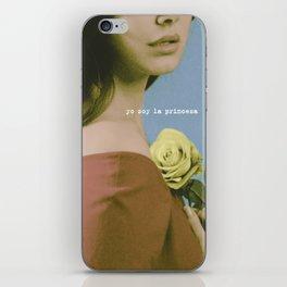 YO SOY LA PRINCESA iPhone Skin