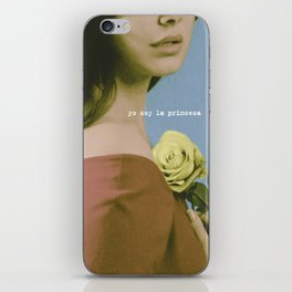 YO SOY LA PRINCESA iPhone Skin