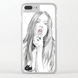 BIT Clear iPhone Case