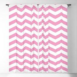 Light Pink Chevron Pattern Blackout Curtain