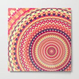 Mandala 324 Metal Print
