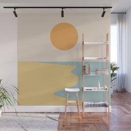 Ocean Sunset / Sunrise II Wall Mural