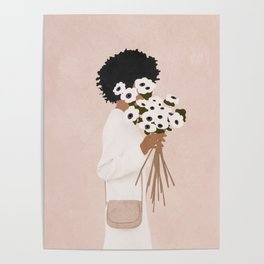 Bouquet of Flowers Poster