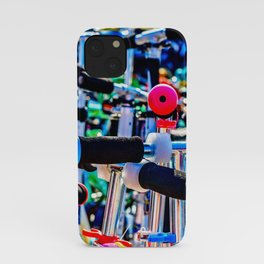 Colorful scooter handles iPhone Case
