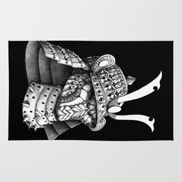Samurai Helm Rug