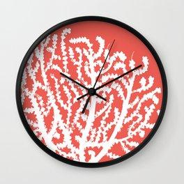 Coral Undersea Garden IIII Wall Clock