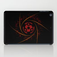 kakashi iPad Cases featuring SHARINGAN TELEPORT by albert Junior