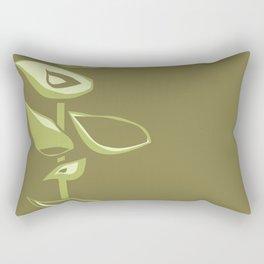 Avacodo flowers II Rectangular Pillow