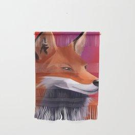 Fox Painting Wall Hanging