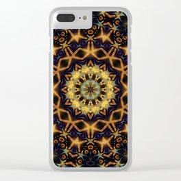 Tribal Energy Batik Mandala Clear iPhone Case