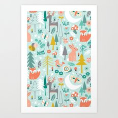 Forest Of Dreamers Art Print