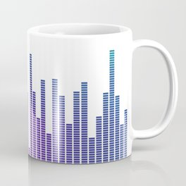 Graphic Equalizer Coffee Mug