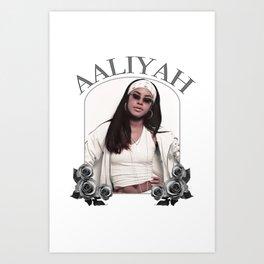 Aaliyah Art Print