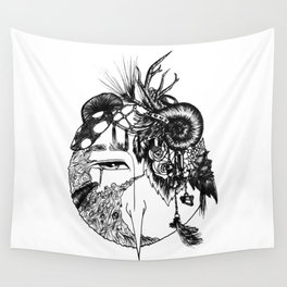 Forest Junk Wall Tapestry