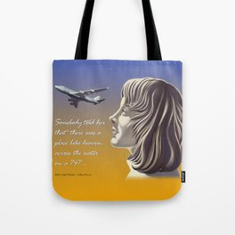 Electric Light Orchestra - Calling America Tote Bag