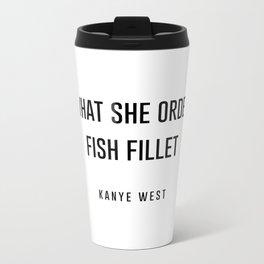 Fish fillet Metal Travel Mug