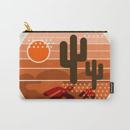 Mightyfine - 70s retro throwback desert southwest socal cali 1970's vibes art Carry-All Pouch