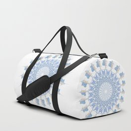 Tribal Sailfish Mandala V2 Duffle Bag