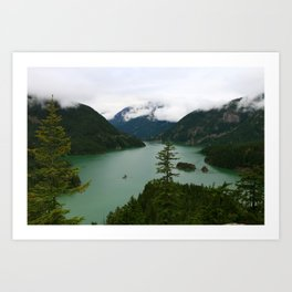Ross Lake View Art Print