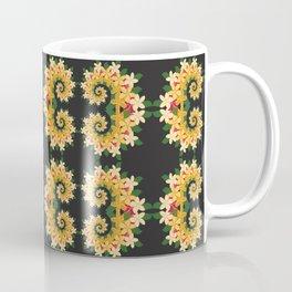 Tropical Floral Emblems Coffee Mug