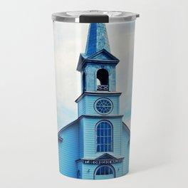 St. Georges de Malbaie Church Travel Mug