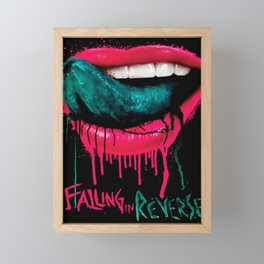 FALLING IN REVERSE TOUR DATES 2019 EHSAN Framed Mini Art Print
