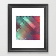 glyxx cyxxkyde Framed Art Print