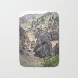 Gold Rush Prospect Hole High Above the Animas River Bath Mat