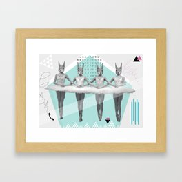 sqirrelsea dance Framed Art Print