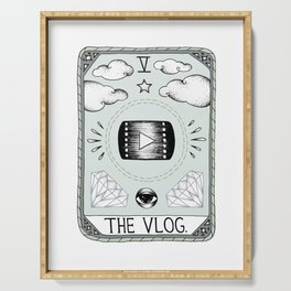 The Vlog Serving Tray