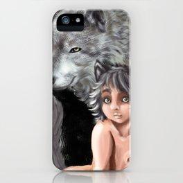 Wolf Cub iPhone Case