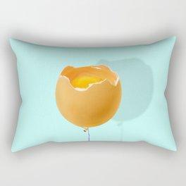 broken egg Rectangular Pillow