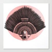 headdress Canvas Prints featuring ::headdress:: by eve orea