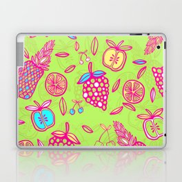 Tropicana on lime green Laptop & iPad Skin