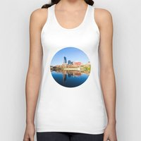 nashville Tank Tops featuring Nashville by GF Fine Art Photography