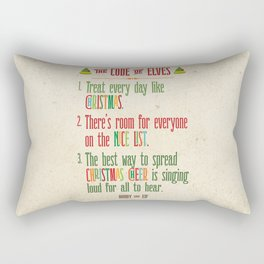 Buddy the Elf! The Code of Elves Rectangular Pillow