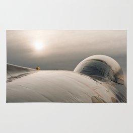 RCAF (89) T- Bird Considers a Sunset. Rug