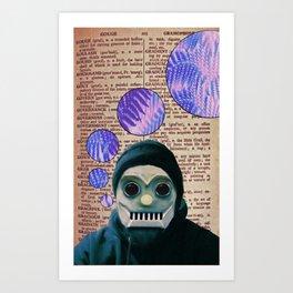 Ones & Zeros Art Print