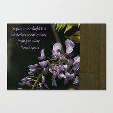 Pale Moonlight, Wisteria's Scent Canvas Print