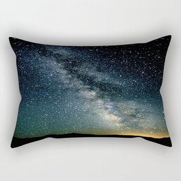 The Milky Way Rectangular Pillow