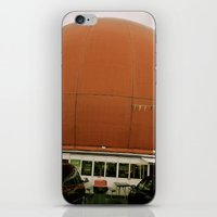 bicycles iPhone & iPod Skins featuring Bicycles by Pablo Villegas
